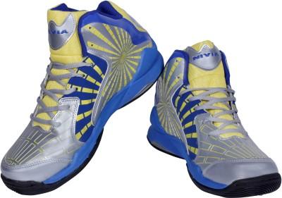 Nivia Phantom Basketball Shoes For Men(Grey)  available at flipkart for Rs.1299