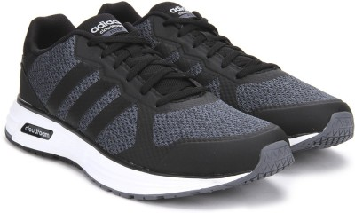 Adidas Neo CLOUDFOAM FLYER Sneakers(Black, White) at flipkart