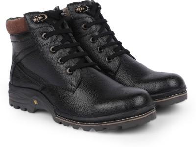 Provogue Boots(Black) at flipkart