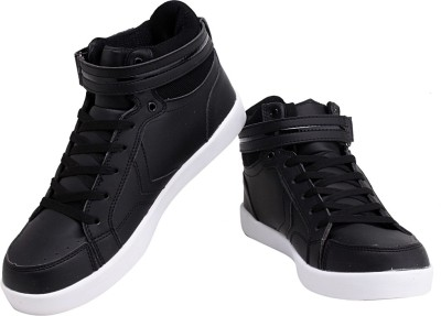 Sparx Awesome Black Sneakers For Men(Black)