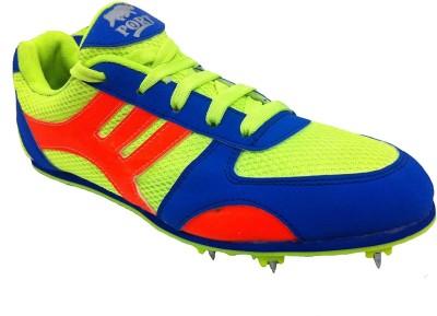 Port Sports Running Shoes For Men(Black)  available at flipkart for Rs.1249