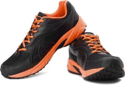 Puma Atom Fashion Ind. Running Shoes For Men(Black, Orange)