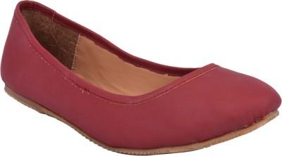 Advin England Genuine Leather Slip On For Women(Burgundy)