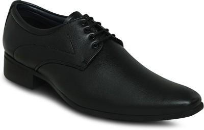 Get Glamr Designer Lace Up Shoes For Men(Black)