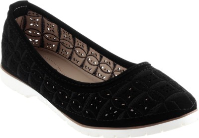 Shuz Touch Bellies(Black) at flipkart