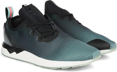 Adidas ZX FLUX ADV ASYM Men Sneakers(Black, Grey) at flipkart