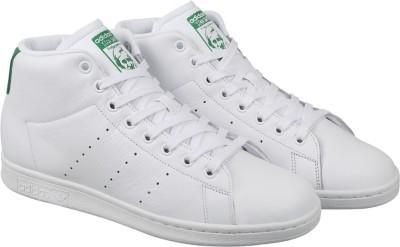 Adidas Originals STAN SMITH MID Sneakers(White) at flipkart