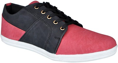 Bachini Casual Shoes For Men(Red)  available at flipkart for Rs.999