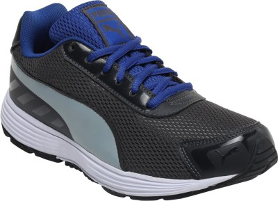 Puma Ridge IDP Running Shoes For Men(Black, Blue)  available at flipkart for Rs.1409