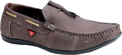 Oora Designer Brown Loafers For Men(Brown)