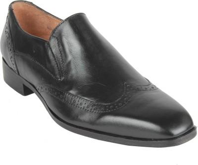 Salt N Pepper 15-326 Arman Black Men'S Slip On Shoes For Men(Black) at flipkart