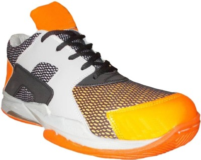 Port Labron Basketball Shoes For Men(Orange)