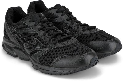 Mizuno Maximizer 18 Running Shoes For Men(Black)  available at flipkart for Rs.1599