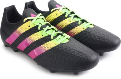 Adidas ACE 16.3 FG/AG Men Football Shoes(Black) at flipkart