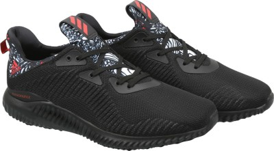 Adidas ALPHABOUNCE CNY Running Shoes(Black) at flipkart