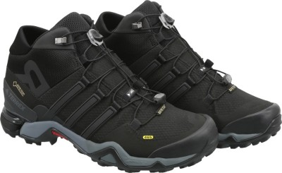 Adidas TERREX FAST R MID GTX Outdoor Shoes(Black) at flipkart