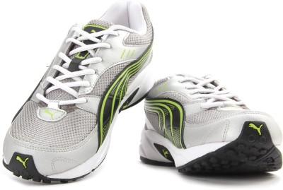 Puma Pluto-DP Men Running Shoes For Men(Black, Green, Silver)