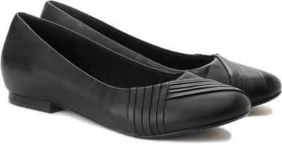 Clarks Chime Ring Bellies(Black) at flipkart