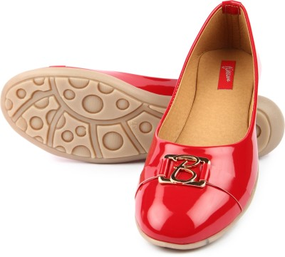 Finesse Flat Bellies For Women(Red)