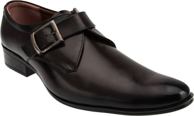 EMPIRE Monk Strap For Men(Brown)