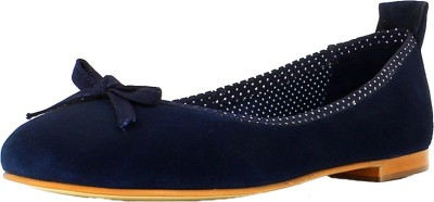SAINT G Women Blue Leather Bellies(Blue) at flipkart