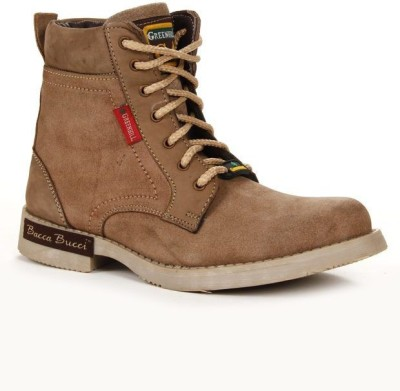 6800106eb2f Bacca Bucci Boots For Men(Olive, Brown)