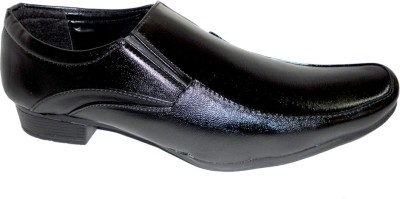 Activa Black Party Slip On Shoes For Men(Black)