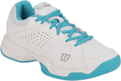 Wilson Rush Swing Tennis Shoes For Women(White)