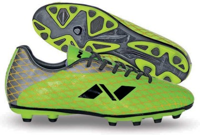 Nivia Ditmar-1 Football Shoes For Men(Green, Silver)  available at flipkart for Rs.881