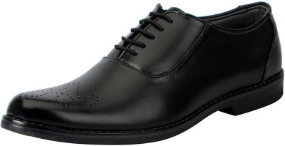 FAUSTO Lace Up For Men Black
