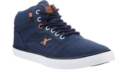 Sparx Stylish Navy Blue Canvas Shoes For Men(Blue)