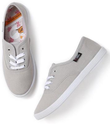Kook N Keech Sneakers For Women(Grey) at flipkart