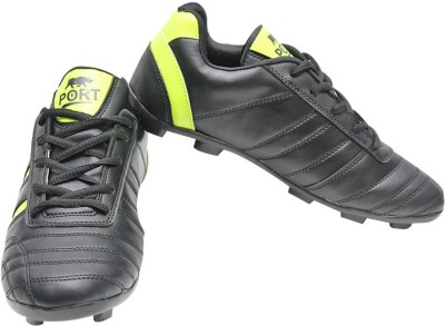 Port Football Shoes For Men(Black)