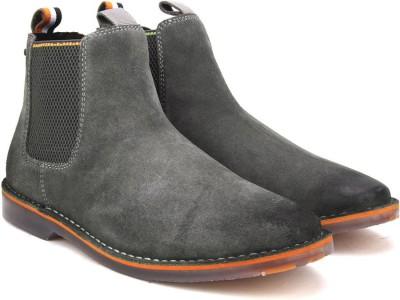 Superdry DAKAR CHELSEA BOOT Boots For Men(Grey)