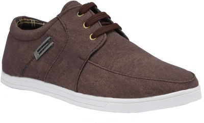 Bachini Classic Casual Shoes For Men(Brown)  available at flipkart for Rs.999