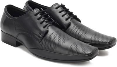 Lee Cooper Men Lace Up Shoes For Men(Black) at flipkart