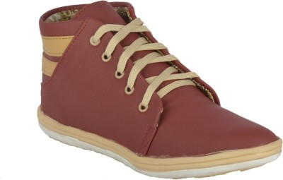 Fine Comfort Casual Shoes(Maroon)