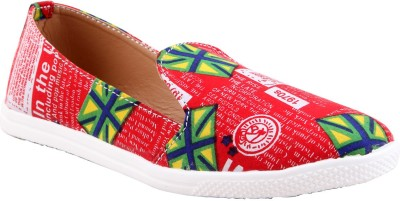 Adorn Cool And Trendy Bellies(Red) at flipkart
