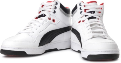 1fbe4cd7144 Puma 35334003 Men Rebound White Shoes - Best Price in India ...