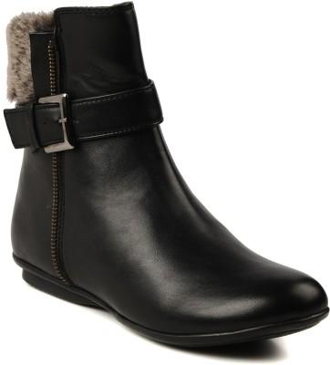 Bruno Manetti 153 Boots(Black) at flipkart
