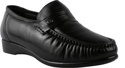 Bacca Bucci leather man Monk Strap Shoes For Men(Black)