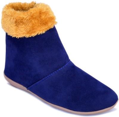 Myra Comfortable Boots For Women(Blue)