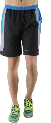 Admiral Solid Men's Blue Sports Shorts