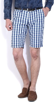 Pepe Jeans Checkered Men Multicolor Basic Shorts