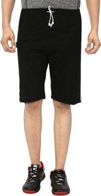 Gumber Shorts Basic Black Men's Solid OkZTXiuP