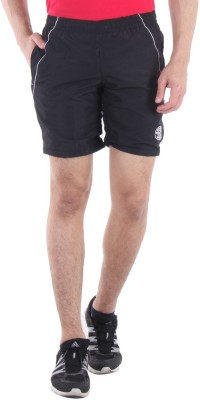 Sports 52 Wear Solid Men's Black, White Sports Shorts  available at flipkart for Rs.445