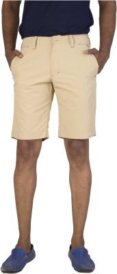 Urbantouch Solid Men's Brown Basic Shorts