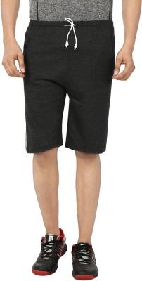 Gumber Solid Men s Grey Basic Shorts 1a2f062ff3d