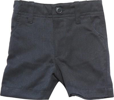 Babeez Short For Boys Cotton Linen Blend, Cotton Nylon Blend, Cotton Linen Blend(Dark Blue)