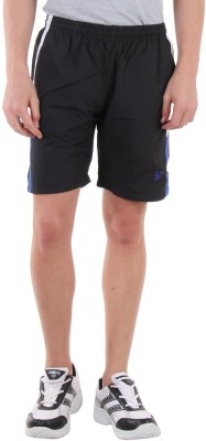 Sports 52 Wear Solid Men's Black, Blue Sports Shorts  available at flipkart for Rs.445